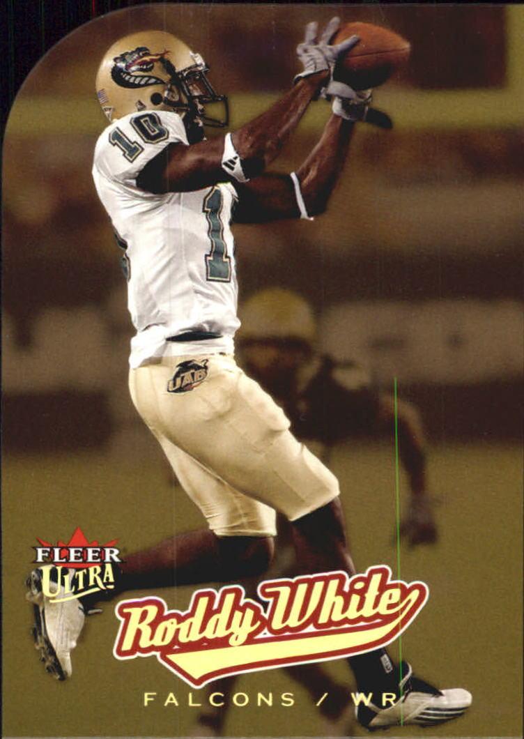 2005 Playoff Absolute Memorabilia #227 Roddy White Atlanta Falcons Football Card