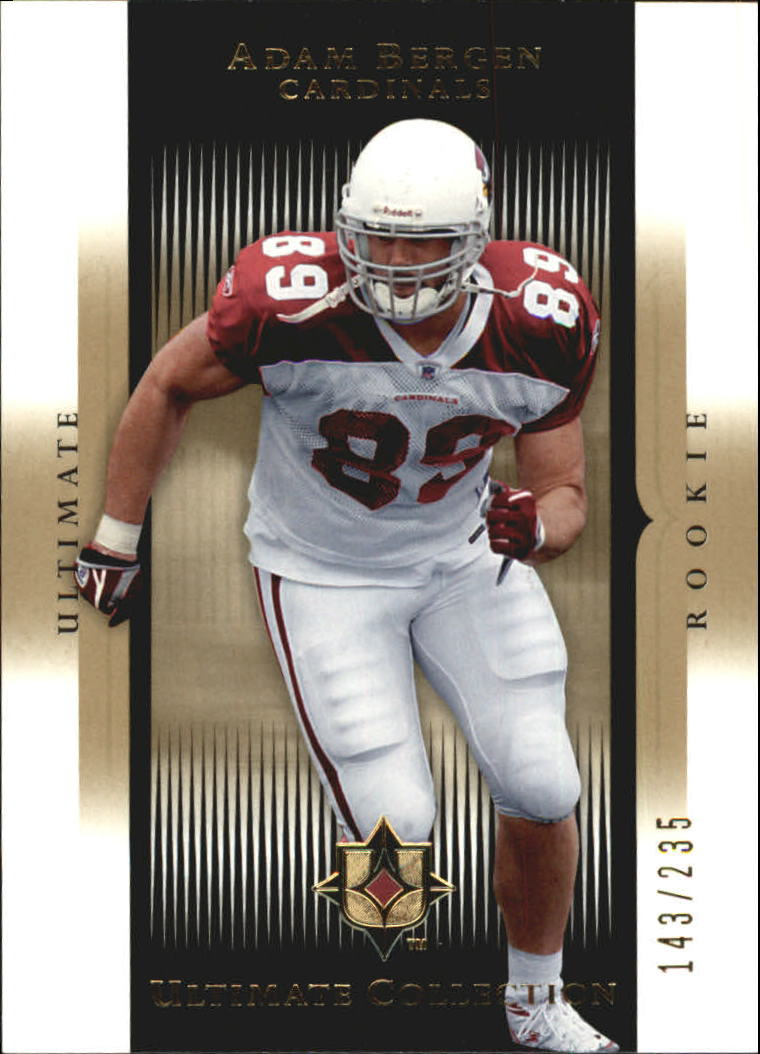 2005 Ultimate Collection #180 Adam Bergen RC