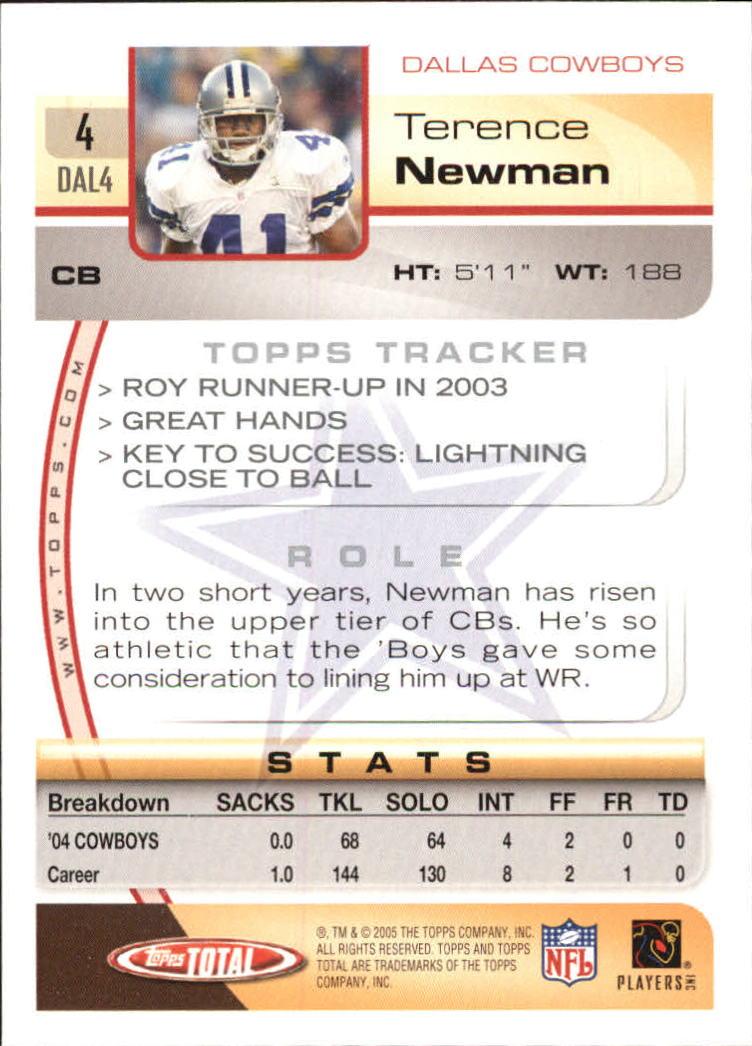 2005-Topps-Total-Football-Card-Pick-1-322 thumbnail 7