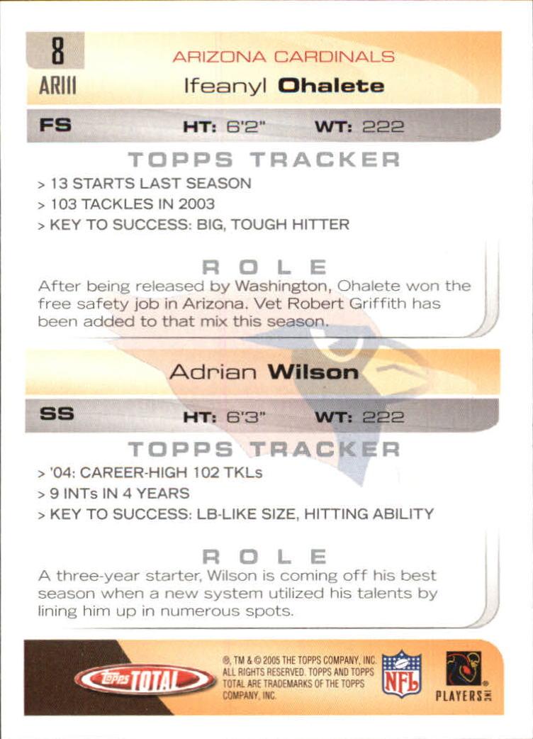 2005-Topps-Total-Football-Card-Pick-1-322 thumbnail 9