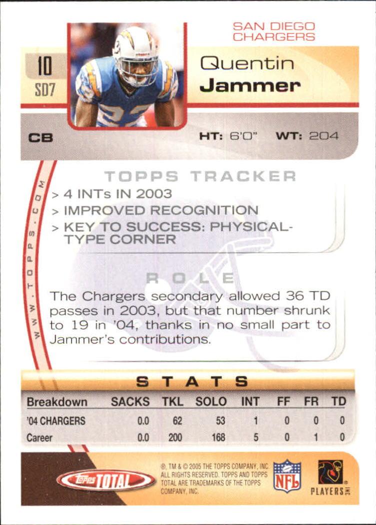 2005-Topps-Total-Football-Card-Pick-1-322 thumbnail 13