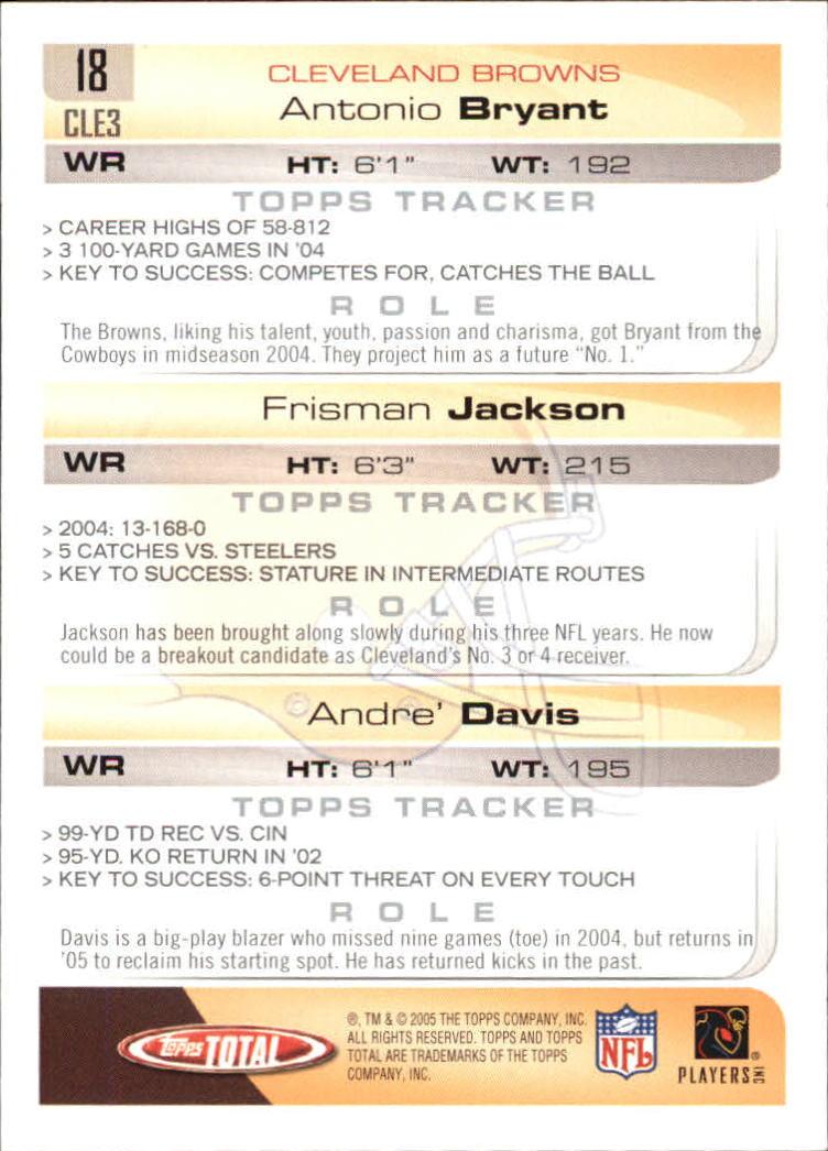 2005-Topps-Total-Football-Card-Pick-1-322 thumbnail 25