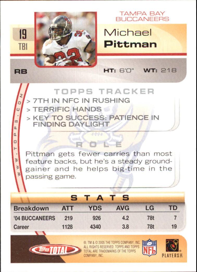 2005-Topps-Total-Football-Card-Pick-1-322 thumbnail 27