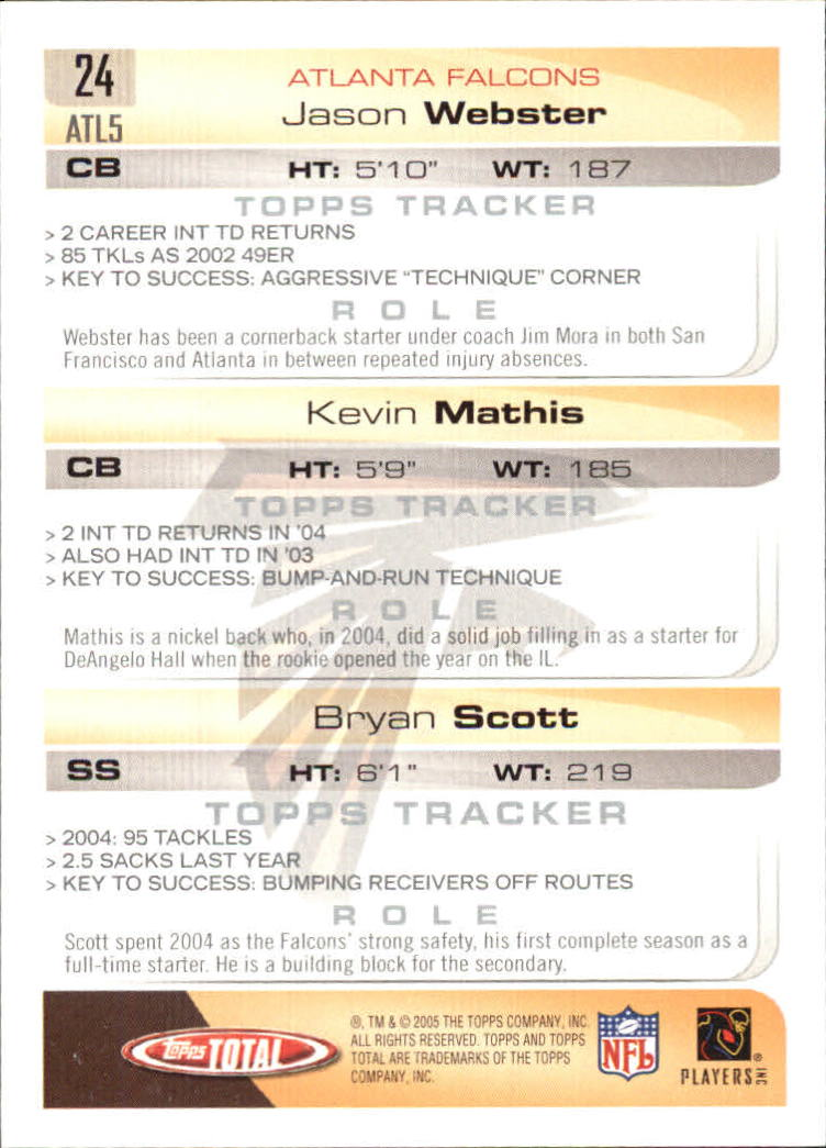 2005-Topps-Total-Football-Card-Pick-1-322 thumbnail 35