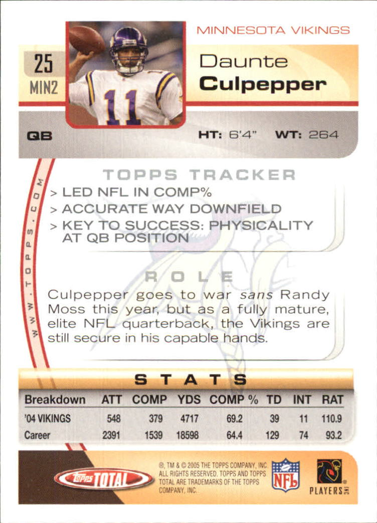 2005-Topps-Total-Football-Card-Pick-1-322 thumbnail 37