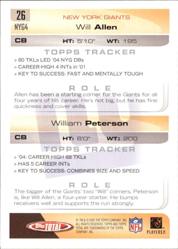 2005-Topps-Total-Football-Card-Pick-1-322 thumbnail 39