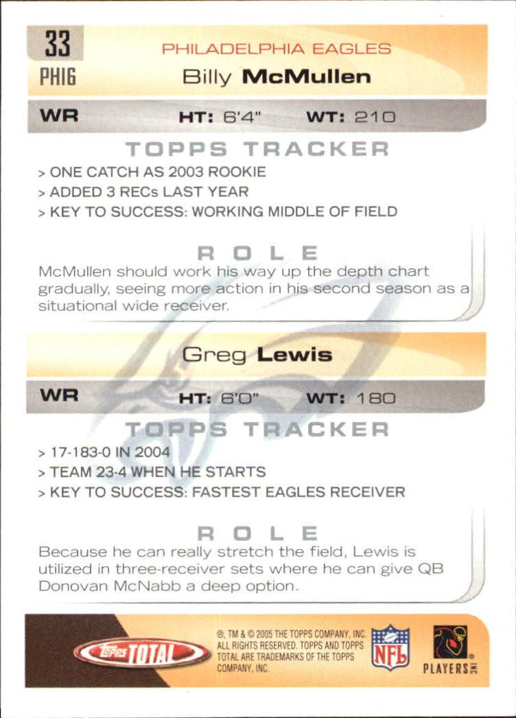2005-Topps-Total-Football-Card-Pick-1-322 thumbnail 47