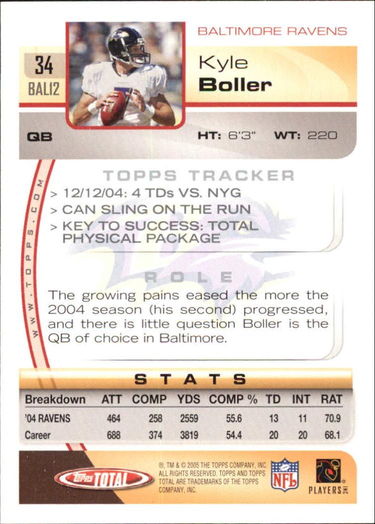 2005-Topps-Total-Football-Card-Pick-1-322 thumbnail 49