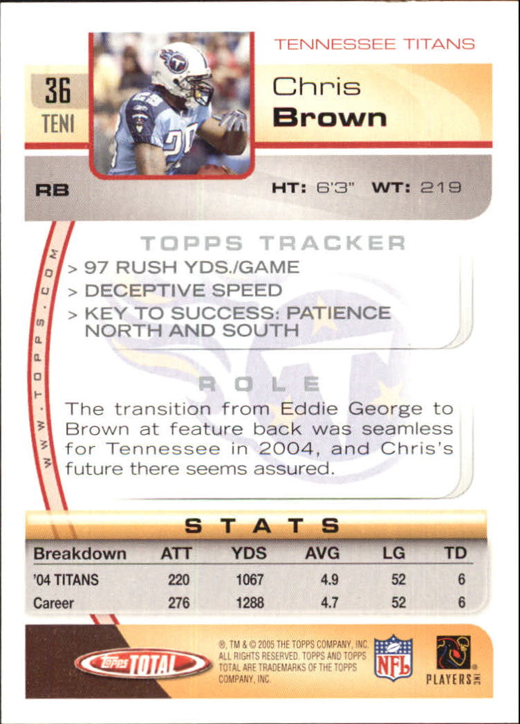 2005-Topps-Total-Football-Card-Pick-1-322 thumbnail 51