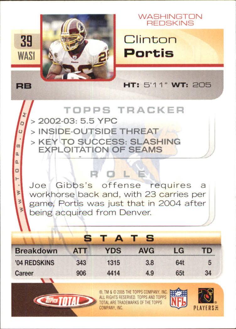 2005-Topps-Total-Football-Card-Pick-1-322 thumbnail 55