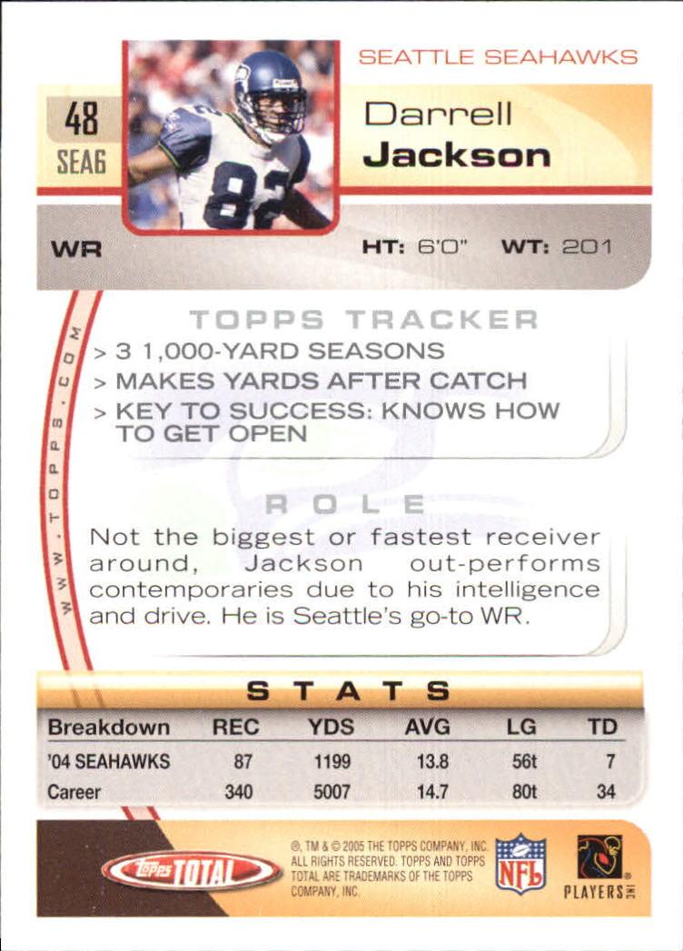 2005-Topps-Total-Football-Card-Pick-1-322 thumbnail 67