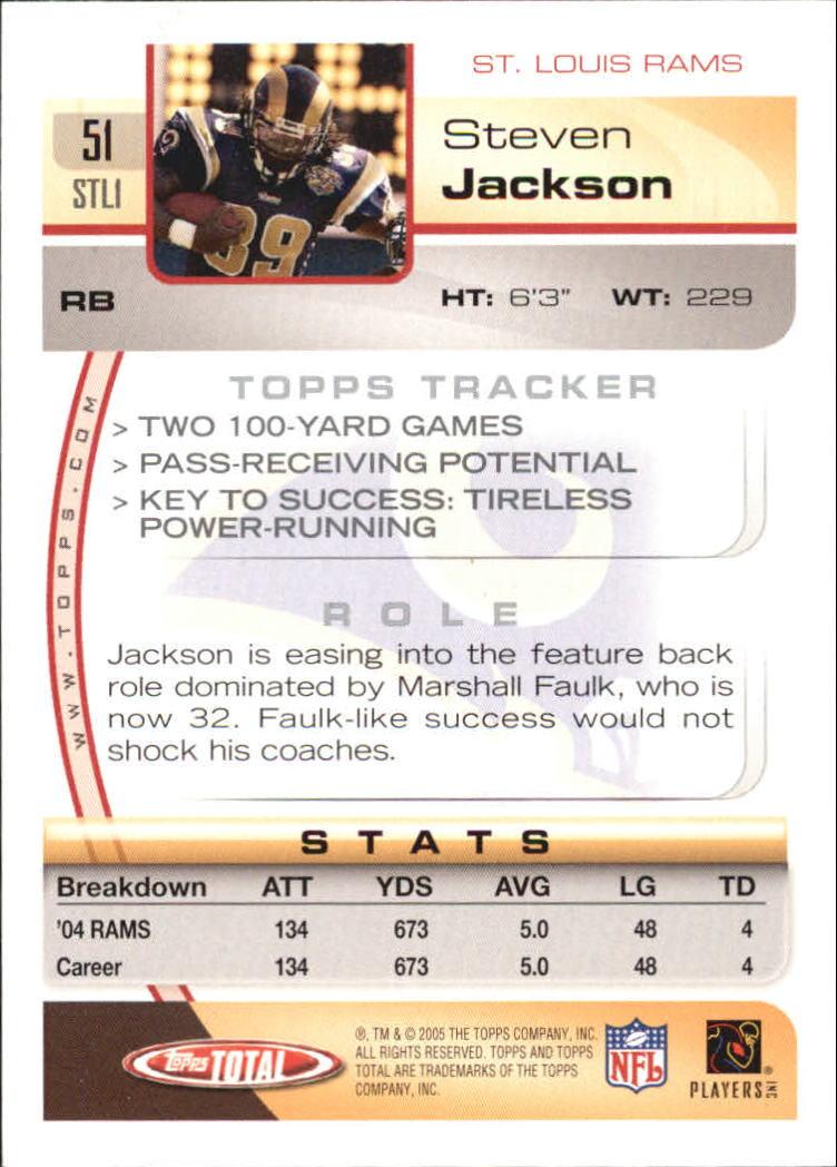 2005-Topps-Total-Football-Card-Pick-1-322 thumbnail 73