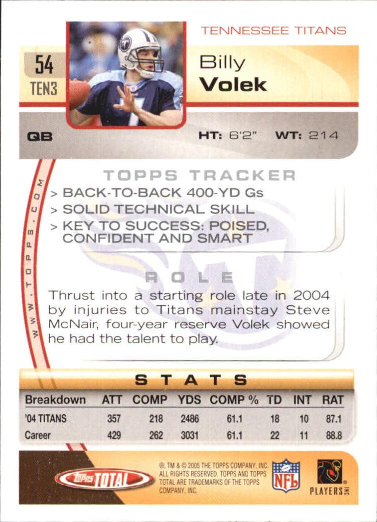 2005-Topps-Total-Football-Card-Pick-1-322 thumbnail 79