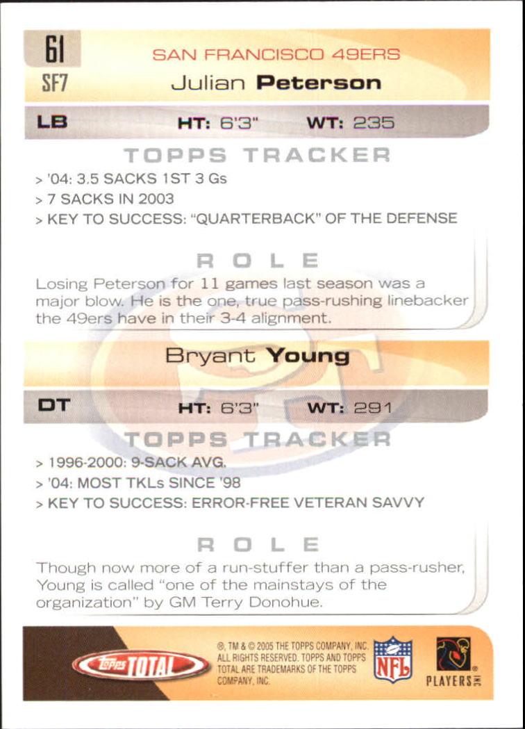 2005-Topps-Total-Football-Card-Pick-1-322 thumbnail 85