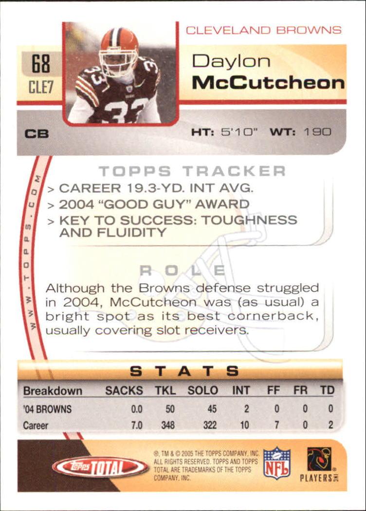 2005-Topps-Total-Football-Card-Pick-1-322 thumbnail 95