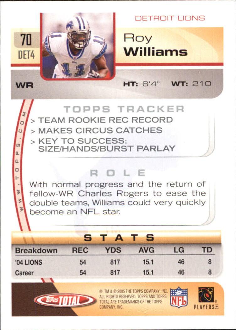2005-Topps-Total-Football-Card-Pick-1-322 thumbnail 99