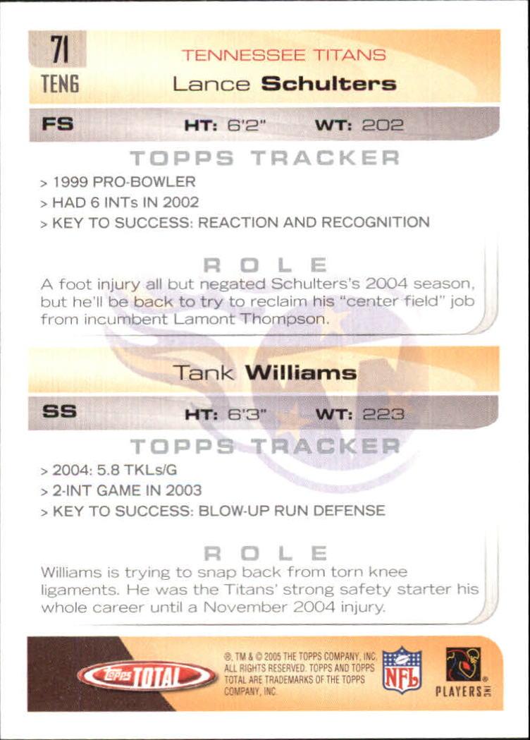 2005-Topps-Total-Football-Card-Pick-1-322 thumbnail 101