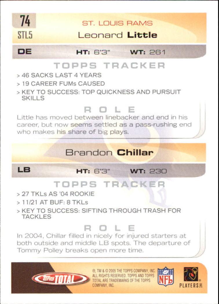 2005-Topps-Total-Football-Card-Pick-1-322 thumbnail 103