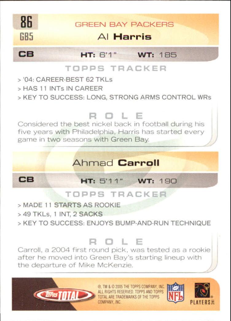 2005-Topps-Total-Football-Card-Pick-1-322 thumbnail 119