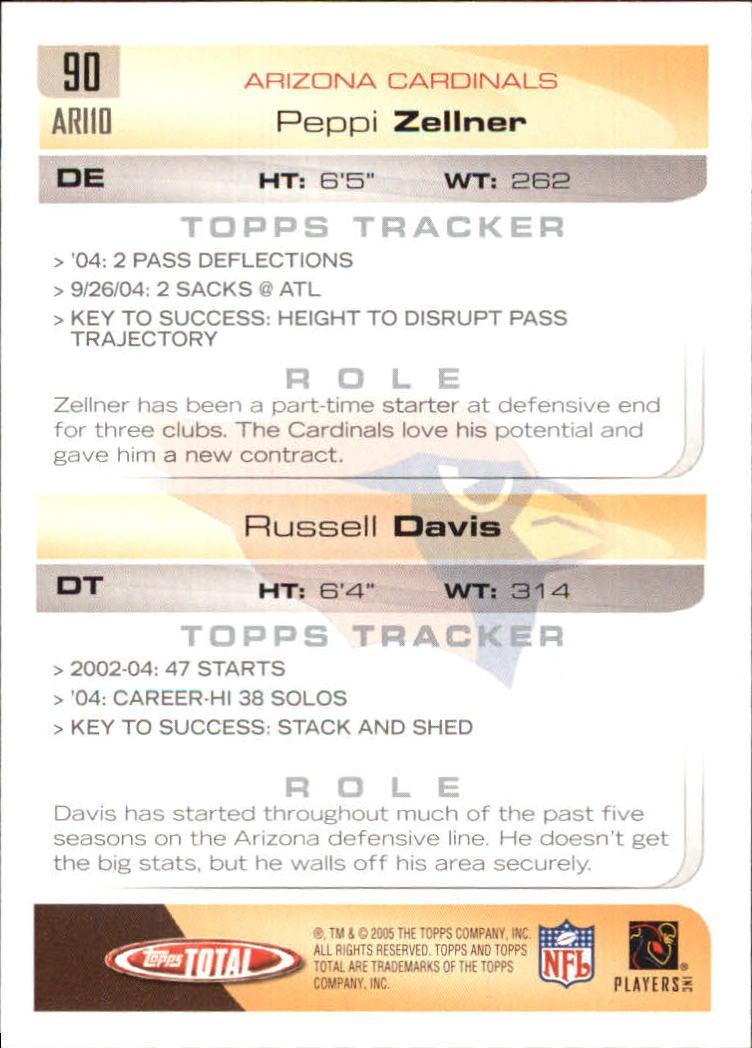 2005-Topps-Total-Football-Card-Pick-1-322 thumbnail 125