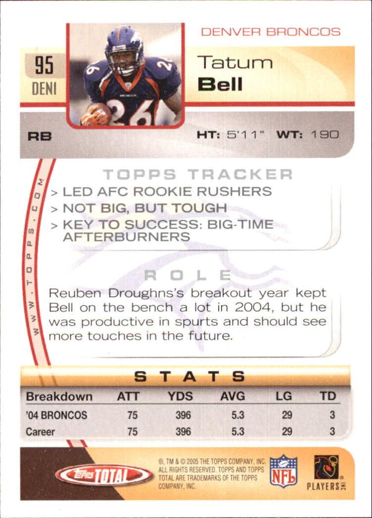 2005-Topps-Total-Football-Card-Pick-1-322 thumbnail 131