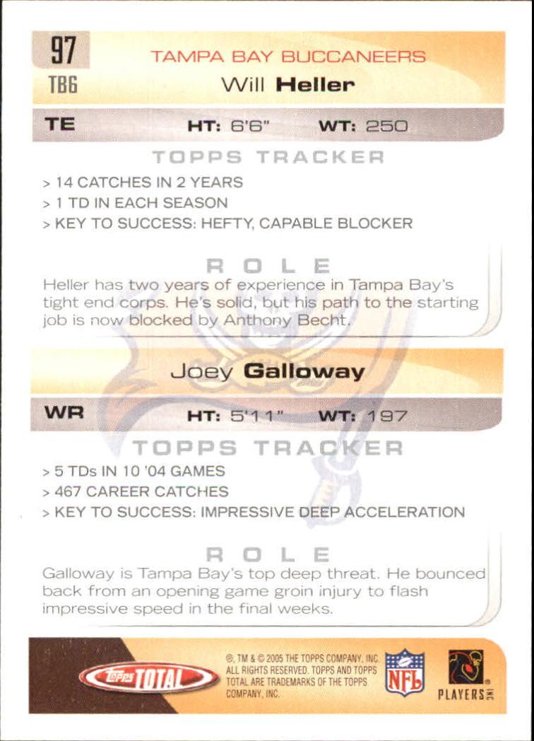 2005-Topps-Total-Football-Card-Pick-1-322 thumbnail 135