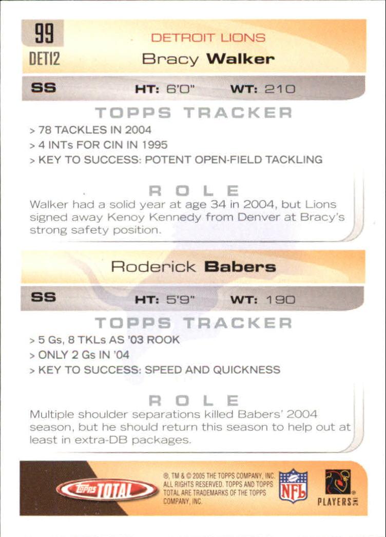 2005-Topps-Total-Football-Card-Pick-1-322 thumbnail 137