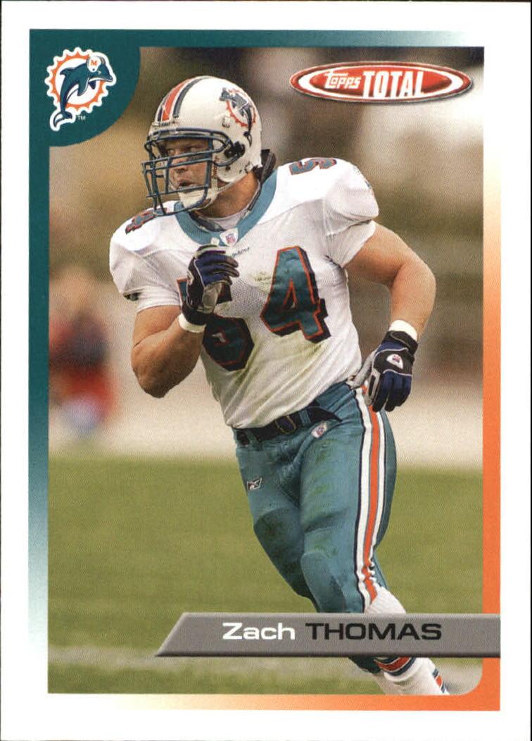 2005 Topps Total #101 Zach Thomas
