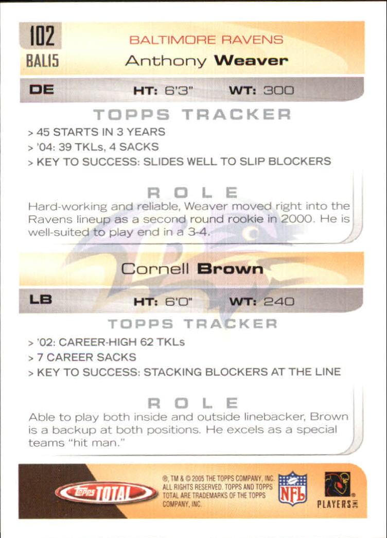 2005-Topps-Total-Football-Card-Pick-1-322 thumbnail 143