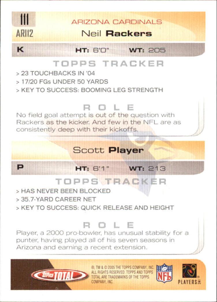 2005-Topps-Total-Football-Card-Pick-1-322 thumbnail 157