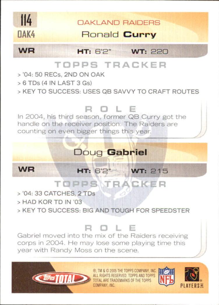 2005-Topps-Total-Football-Card-Pick-1-322 thumbnail 161