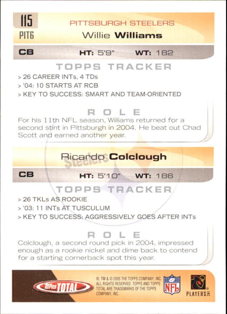 2005-Topps-Total-Football-Card-Pick-1-322 thumbnail 163