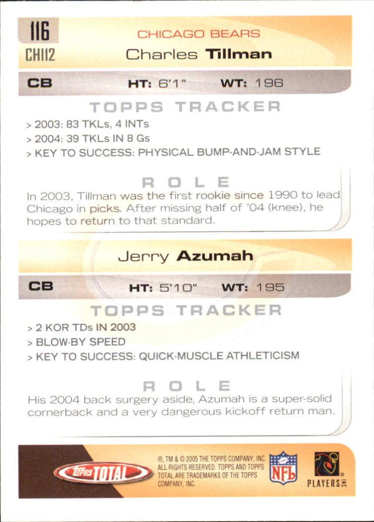 2005-Topps-Total-Football-Card-Pick-1-322 thumbnail 165