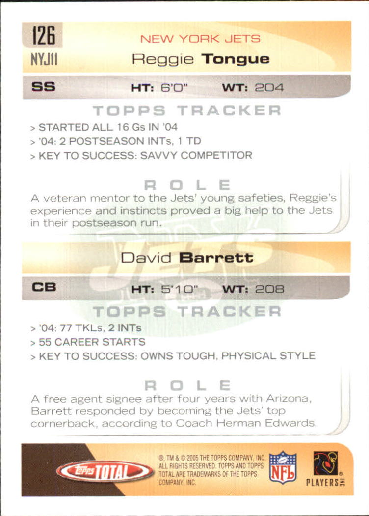 2005-Topps-Total-Football-Card-Pick-1-322 thumbnail 179