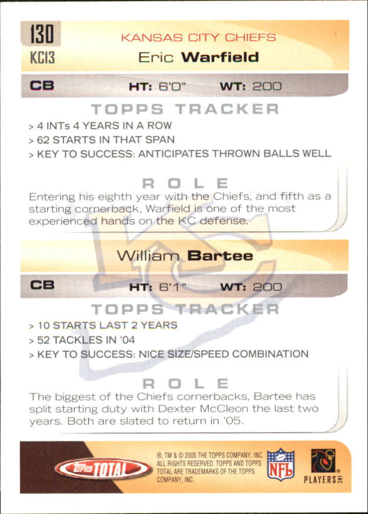 2005-Topps-Total-Football-Card-Pick-1-322 thumbnail 183