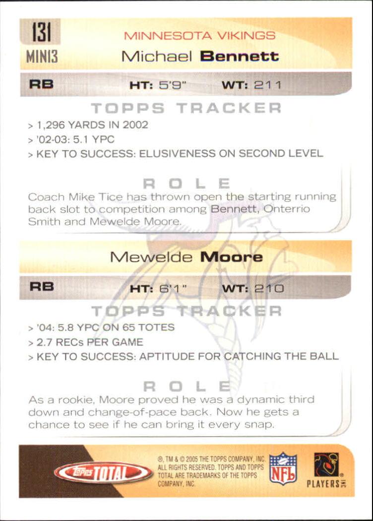 2005-Topps-Total-Football-Card-Pick-1-322 thumbnail 185