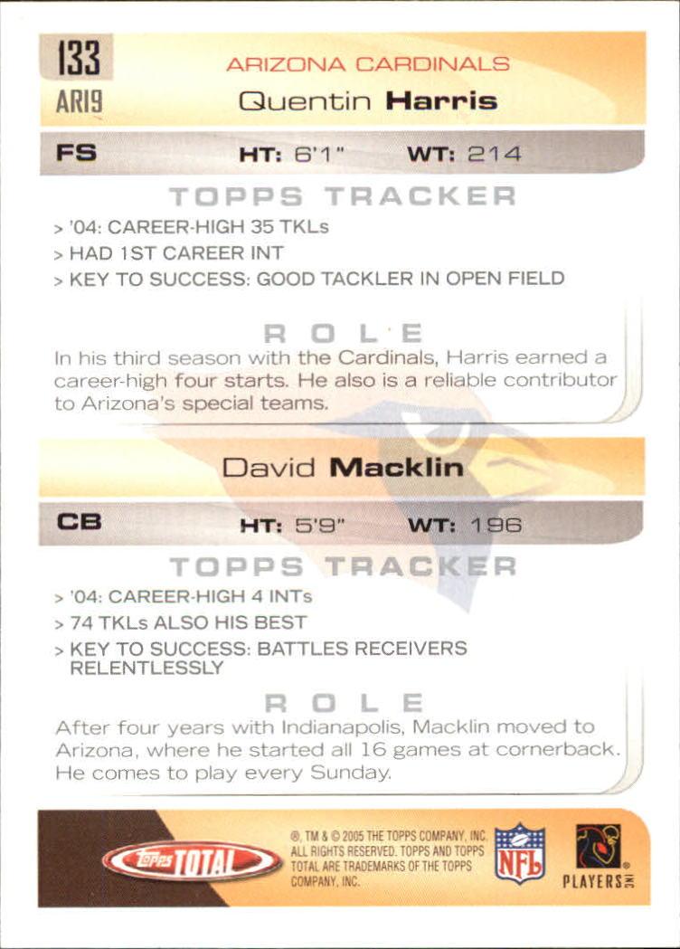 2005-Topps-Total-Football-Card-Pick-1-322 thumbnail 189