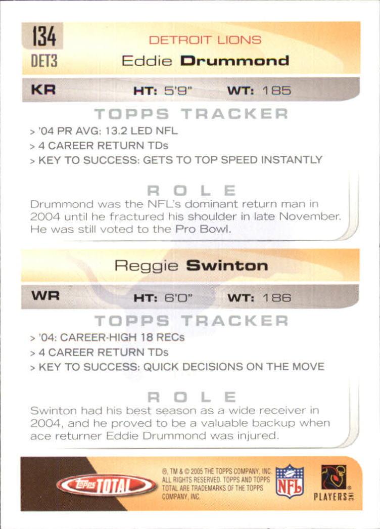 2005-Topps-Total-Football-Card-Pick-1-322 thumbnail 191