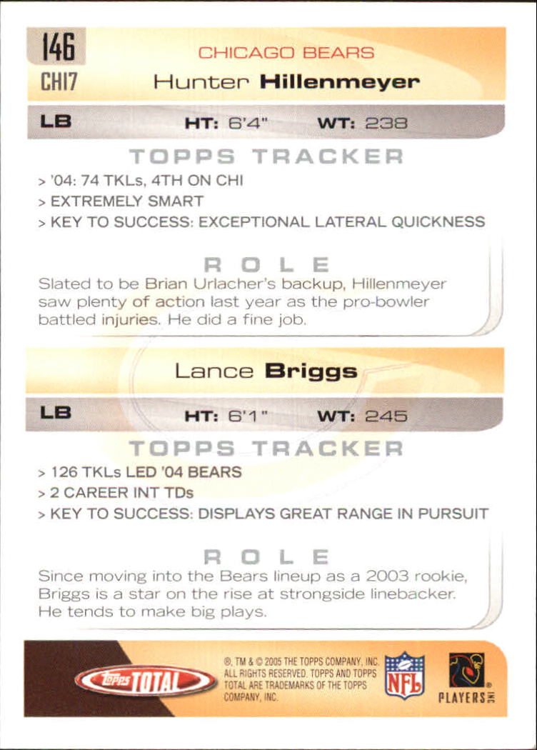 2005-Topps-Total-Football-Card-Pick-1-322 thumbnail 205