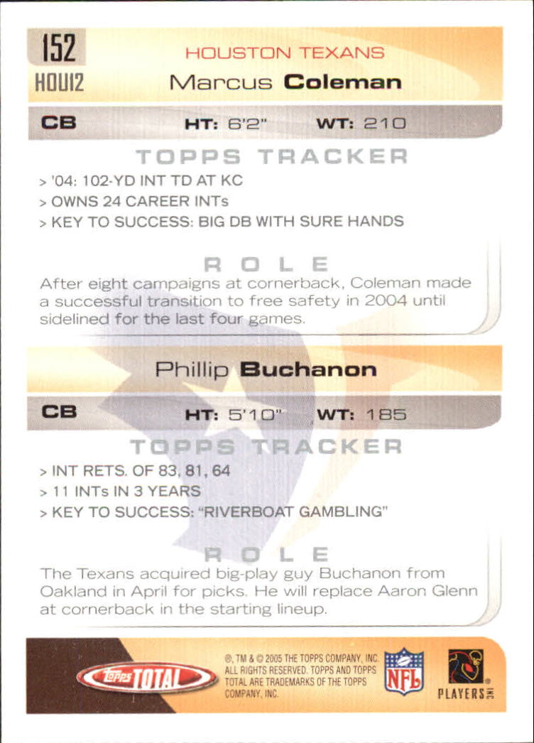 2005-Topps-Total-Football-Card-Pick-1-322 thumbnail 209