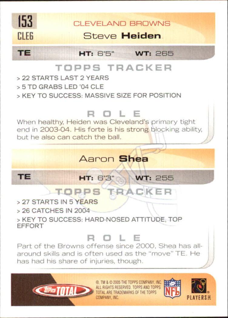 2005-Topps-Total-Football-Card-Pick-1-322 thumbnail 211
