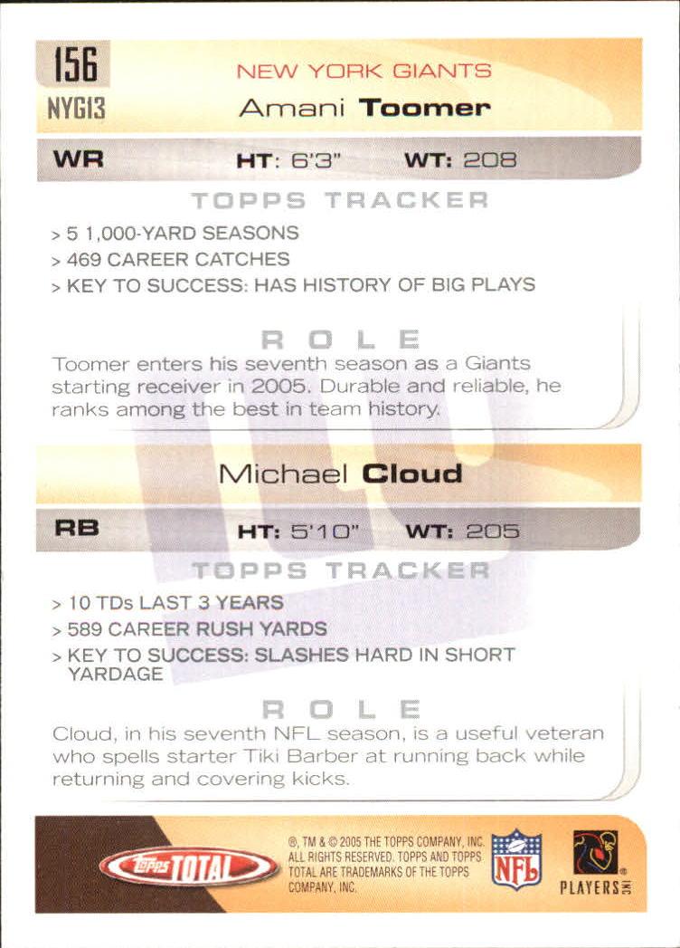 2005-Topps-Total-Football-Card-Pick-1-322 thumbnail 217