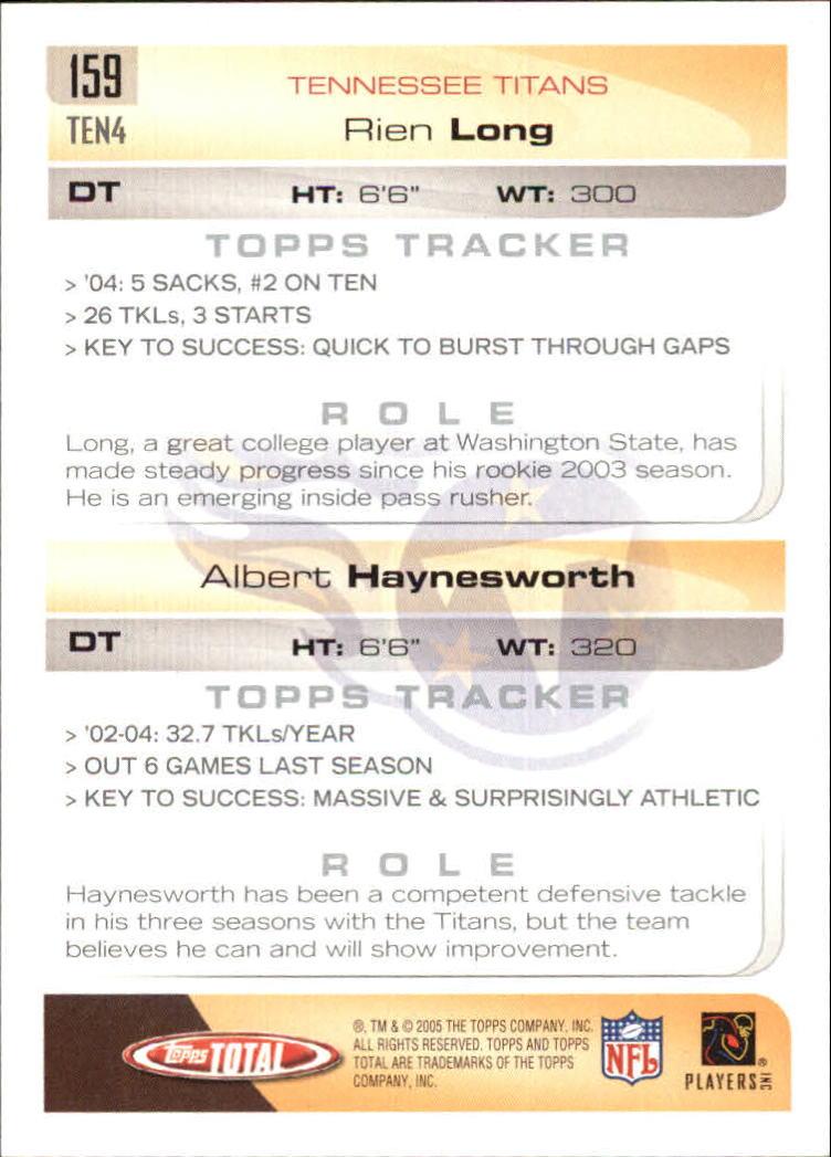 2005-Topps-Total-Football-Card-Pick-1-322 thumbnail 223