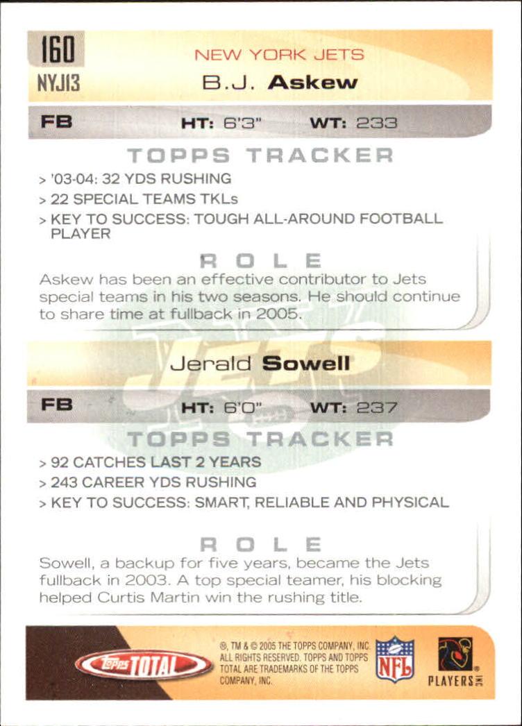 2005-Topps-Total-Football-Card-Pick-1-322 thumbnail 225