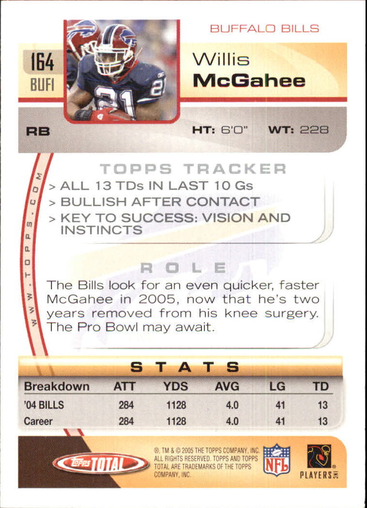 2005-Topps-Total-Football-Card-Pick-1-322 thumbnail 231