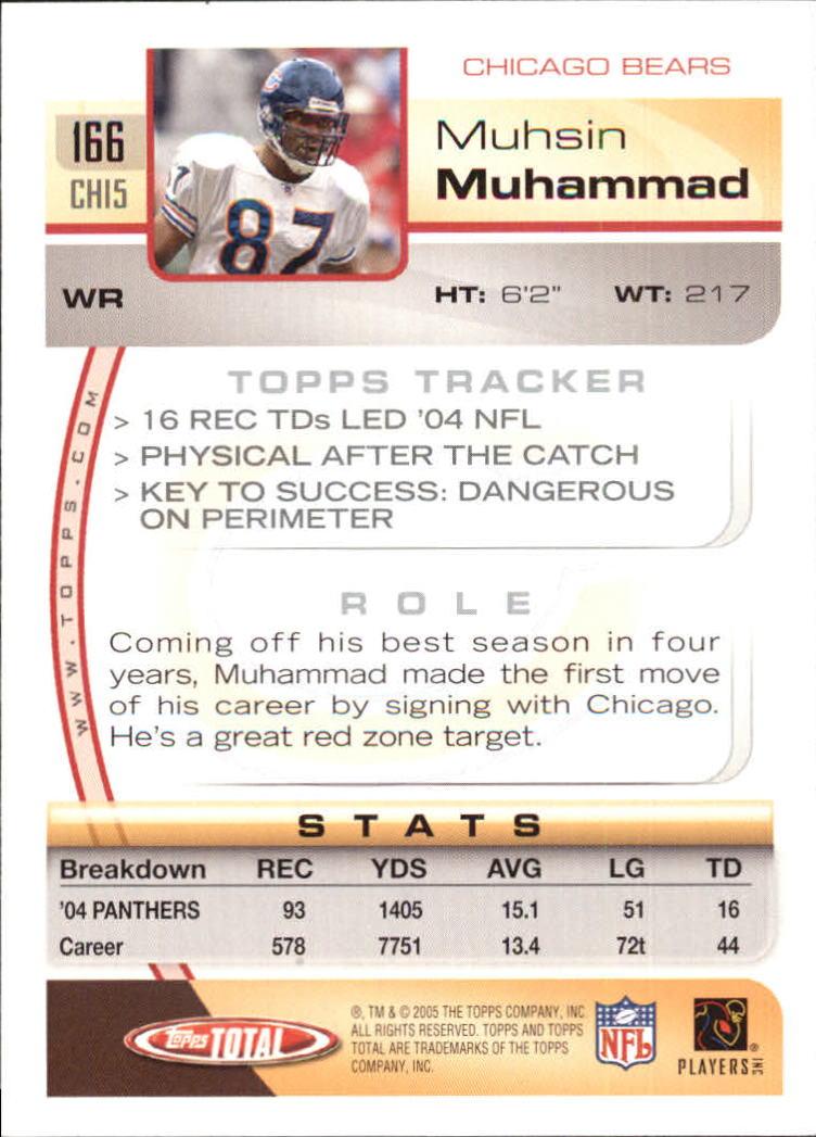 2005-Topps-Total-Football-Card-Pick-1-322 thumbnail 235