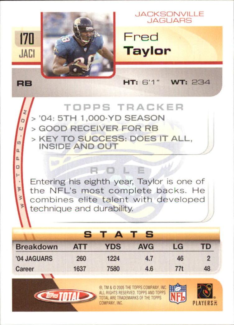 2005-Topps-Total-Football-Card-Pick-1-322 thumbnail 241