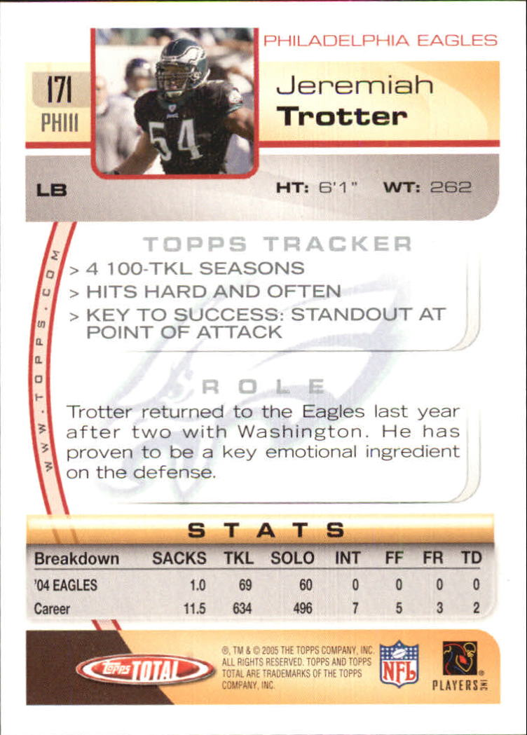 2005-Topps-Total-Football-Card-Pick-1-322 thumbnail 243