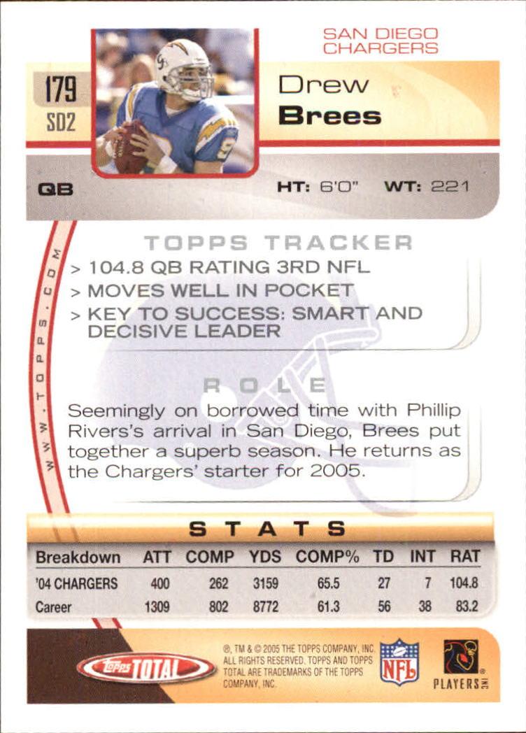 2005-Topps-Total-Football-Card-Pick-1-322 thumbnail 251