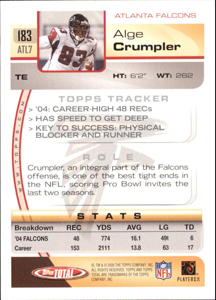 2005-Topps-Total-Football-Card-Pick-1-322